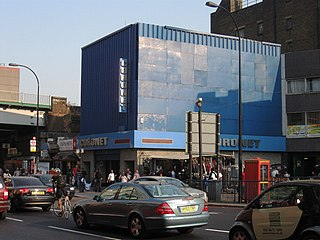 The Coronet former music venue and night-club in Elephant and Castle, London, England