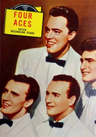The Four Aces - The lineup in 1957.
