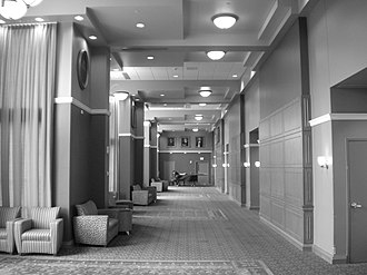 Ohio University - Baker University Center Grand Hallway