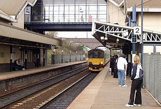 The Hawthorns station - Image: The Hawthorns station in 2004