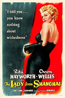 <i>The Lady from Shanghai</i> 1947 film noir by Orson Welles