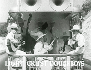 Western swing - The Light Crust Doughboys in Oh, Susanna!, a 1936 film starring Gene Autry