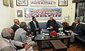 The Minister of Industry of the Republic of Sudan, Mr. Al Simah Al Siddiq Al Nour meeting the Union Minister for New and Renewable Energy, Dr. Farooq Abdullah, in New Delhi on March 09, 2014 (1).jpg