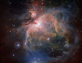 VLT Survey Telescope - The Orion Nebula and cluster from the VLT Survey Telescope.