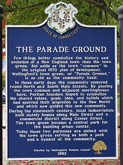 The parade ground wallingford ct