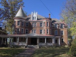 Peter G. Van Winkle - Former Home of Peter Van Winkle in Parkersburg, WV