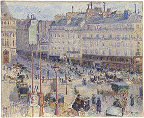 The Place du Havre, Paris