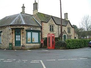 Hilmarton village in United Kingdom