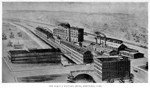 Pratt & Whitney Measurement Systems - Image: The Pratt & Whitney Shops, Hartford, Conn, 1896