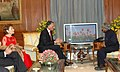 The President, Dr. A.P.J. Abdul Kalam meeting with President of Portugal His Excellency Prof. Anibal Cavaco Silva in New Delhi on January 11, 2007.jpg