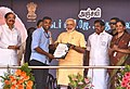 The Prime Minister, Shri Narendra Modi distributing the Sanction Letters to beneficiaries of Long Liner Trawlers under 'Blue Revolution Scheme', at Rameswaram, Tamil Nadu (2).jpg