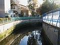 The River Ravensbourne near Deptford Bridge DLR station (2) - geograph.org.uk - 1081544.jpg