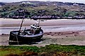 The Rosses - Fishing boat grounded at Cruit Island - geograph.org.uk - 1334958.jpg