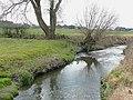 The Smestow Brook at Trescott, Staffordshire - geograph.org.uk - 1129819.jpg
