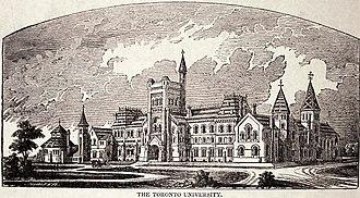University College, Toronto - University College, c. 1860
