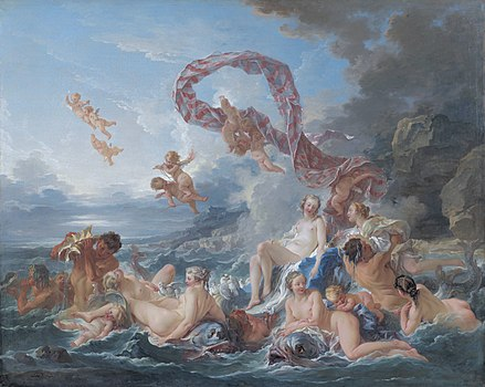 The Triumph of Venus, by François Boucher.jpg