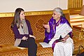 The Union Minister for Culture, Smt. Chandresh Kumari Katoch called on the Minister of Culture and Communication of France, Ms. Mme Aurelie Filippetti, in Paris on April 04, 2013 (1).jpg
