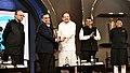 The Vice President, Shri M. Venkaiah Naidu at an event to give away The Economic Times Award for Corporate Excellence to Shri Mukesh Ambani, in Mumbai.jpg