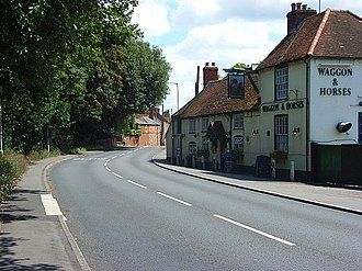 Twyford, Berkshire - Image: The Waggon and Horses, Twyford geograph.org.uk 504349