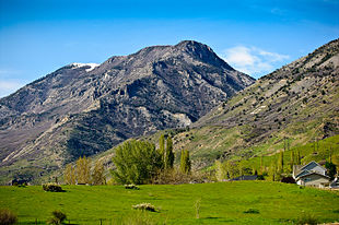 The Wasatch mountain range north of Lindon.