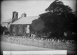The church, Llansanffraid Glan Conwy