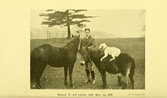 Everard Calthrop - Image as depicted in The Horse, as Comrade and Friend, published in 1920