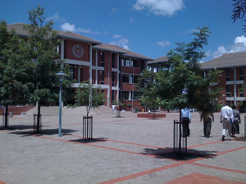 Square in Francistown