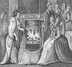 The meeting of Grace O'Malley and Queen Elizabeth I.jpg