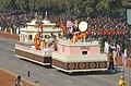 The tableau of state of Manipur passing through the Rajpath during the full dress rehearsal for the Republic Day Parade in New Delhi on January 23,2006.jpg