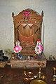 Throne - Dadhimadhab Mandir Sanctum - Amragori - Howrah 2013-09-22 2905.JPG