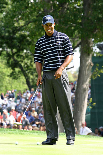 Tiger Woods - Woods at the 2004 Ryder Cup
