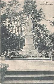 Standbild in Tilsit von Gustav Eberlein, 1945 zerstört (Quelle: Wikimedia)
