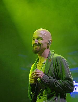 Tim Booth - Tim Booth performing with James at Haldern Pop 2013