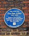 Tin Pan Alley plaque in Denmark Street.jpg