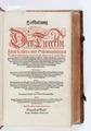 """Titelblad, 1573, """"Hoffhaltung des türckhischen Keisers, und othomannischen Reichs beschreibung..."""" - Skoklosters slott - 93326.tif"""