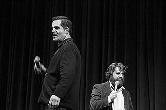 Todd Glass - Glass with Zach Galifianakis in 2012