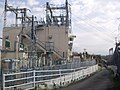 Tokaido Shinkansen Numazu frequency changer substation 03.jpg