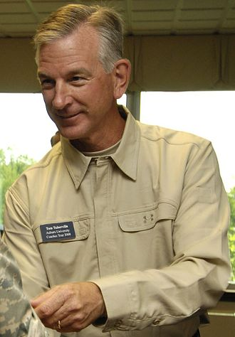 Tommy Tuberville - Tuberville visiting Scott Air Force Base before embarking on a trip to the Middle East to see deployed armed forces members as part of Coaches Tour 2008