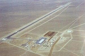 Tonopah Test Range Airport - Tonopah Test Range Airport in 1982