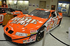 "Double Duty - Tony Stewart's 1999 stock car used in his ""Double Duty"" attempt."