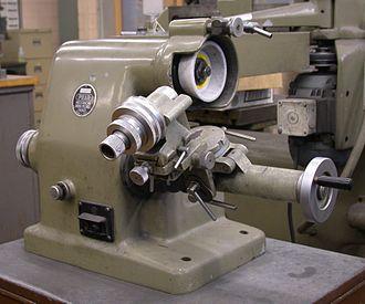 Tool and cutter grinder - D bit grinder