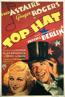 <i>Top Hat</i> 1935 film by Mark Sandrich