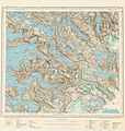 Topographic map of Norway, M10 Tysfjord, 1939.jpg