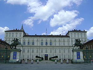 Timeline of Turin - The Royal Palace of Turin was built in 1658