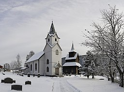 Torpo church and Stave Church, Torpo, Buskerud, Norway - jpfagerback - 2015-11-22 - d7-0486-0496.jpg