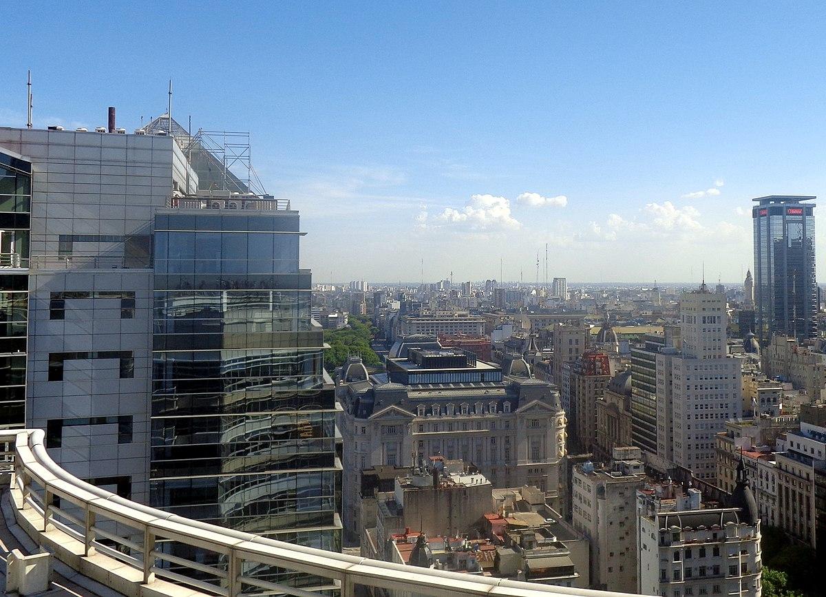 File Torre Bouchard Plaza Desde Edificio República Jpg