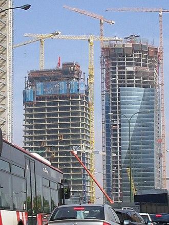 Torre de Cristal - Image: Torre Espacio y Torre de Cristal 2