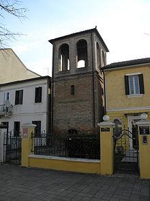 La Torre campanaria, uno degli edifici più vecchi del paese, edificata nel 1882.