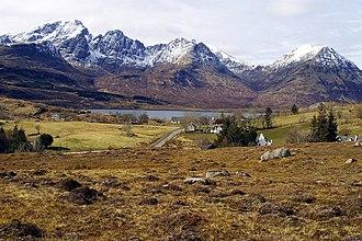 Torrin - Image: Torrin and Bla Bheinn geograph.org.uk 750023
