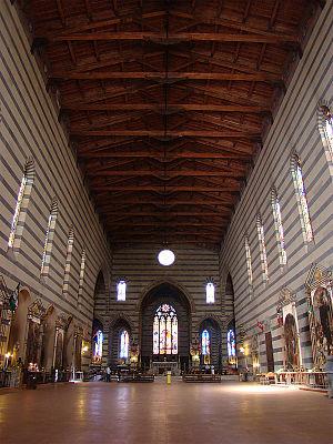 Basilica of San Francesco (Siena) - Interior of the Basilica